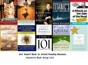 Back to School Book Bonanza Giveaway